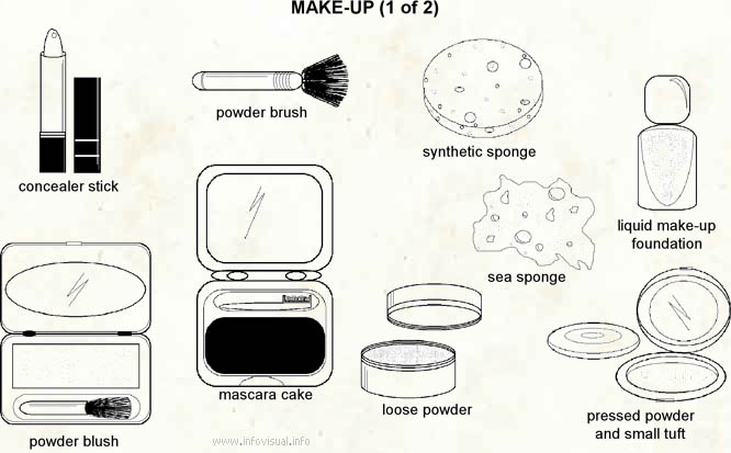 Make-up  (Visual Dictionary)